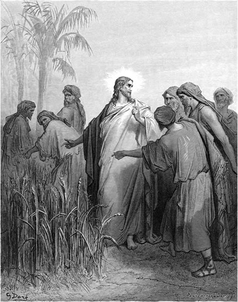 Gustave-dore-jesus-disciples-picking-corn